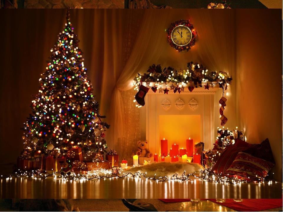 В каждом дома стоит ёлка – Christmas Tree