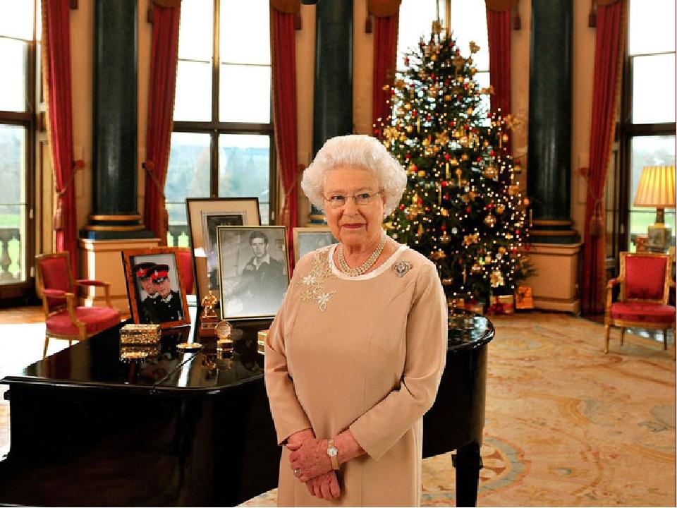 По телевизору в день рождества в 15:00 показывают речь Королевы. Речь Королевы