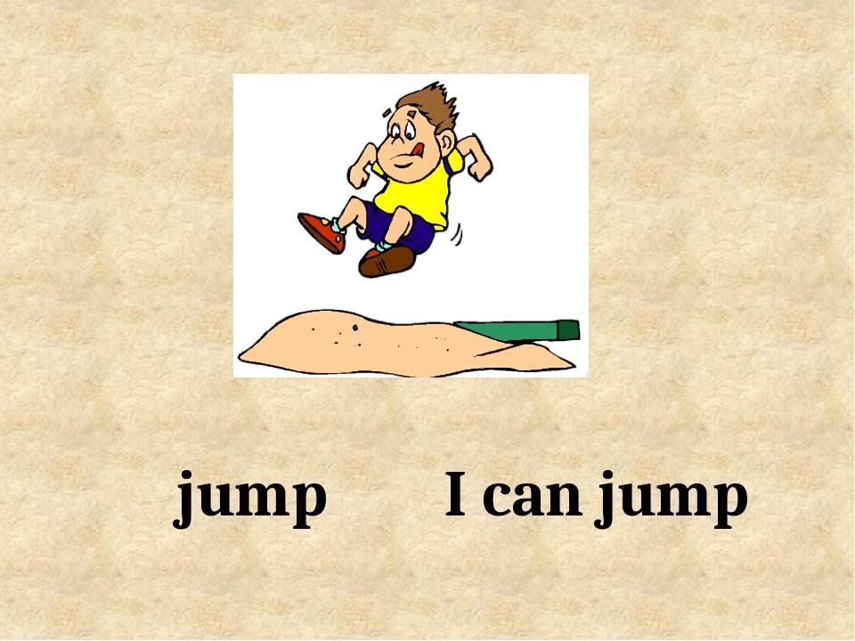 I can jump jump